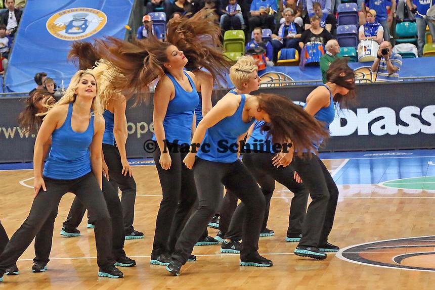 Fraport Skyliners Dance Team - Fraport Skyliners vs. medi Bayreuth, Fraport Arena Frankfurt