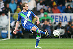WfL Wolfsburg's Andre Schurke during Champions League 2015/2016 Quarter-finals 2nd leg match. April 12,2016. (ALTERPHOTOS/Acero)