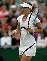 26-6-06,England, London, Wimbledon, first round match, Martina Hingis