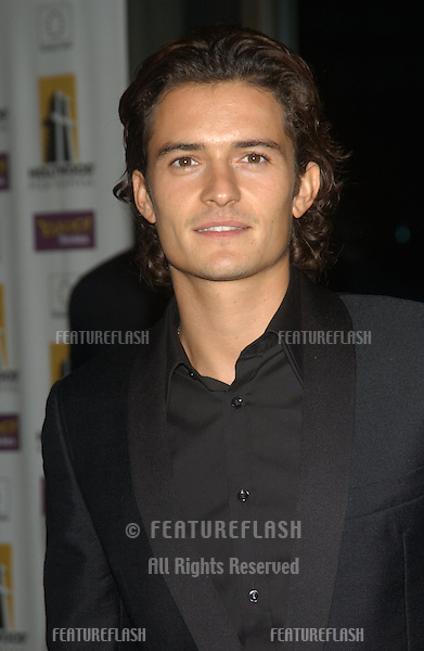 Actor ORLANDO BLOOM at the 2003 Hollywood Awards at the Beverly Hills Hilton..Oct 20, 2003