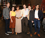 """Ward Horton, Roxanna Hope Radja, Mercedes Reuhl, Michael Urie, Jack DiFalco and Michael Hsu Rosen attend the Broadway cast photo call for """"Torch Song"""" at the Hayes Theatre on September 20, 2018 in New York City."""