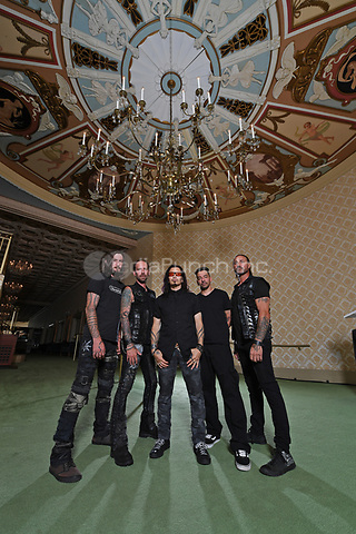 FORT LAUDERDALE, FL - SEPTEMBER 27: Weapons of Anew pose for a portrait at The Parker Playhouse on September 27, 2017 in Fort Lauderdale Florida. Credit: mpi04/MediaPunch