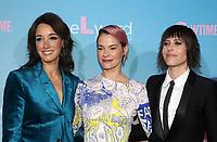"2 December 2019 - Los Angeles, California - Jennifer Beals, Leisha Hailey and Katherine Moennig. Premiere Of Showtime's ""The L Word: Generation Q"" held at Regal LA Live. Photo Credit: FS/AdMedia /MediaPunch"