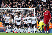 17th March 2019, Craven Cottage, London, England; EPL Premier League football, Fulham versus Liverpool; Ryan Babel of Fulham refuses to celebrates as he scores for 1-1 in the 74th minute