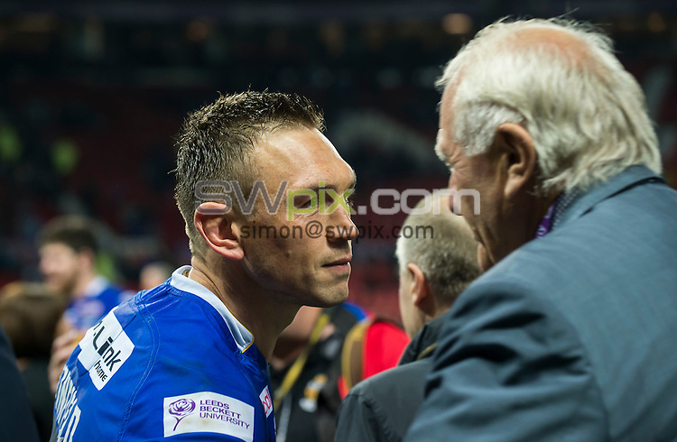 Picture by Allan McKenzie/SWpix.com - 10/10/2015 - Rugby League - First Utility Super League Grand Final - Leeds Rhinos v Wigan Warriors - Old Trafford, Manchester, England - Kevin Sinfield.