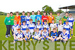 Young footballers having fun at the Castleisland Desmond's family fun day on Sunday