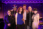 Terese Genecco, Lance Roberts, Melissa Errico, Brent Barrett, Michael Cerveris and Kimberly Kaye promoting their upcoming performances at 54 Below on 10/24/2012 in New York City.