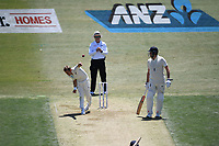 21st November 2019; Mt Maunganui, New Zealand;  Neil Wagner bowling  international test match cricket, Day 1, New Zealand versus England at Bay Oval, Mt Maunganui, New Zealand.