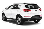 Car pictures of rear three quarter view of 2016 KIA Sportage SX 5 Door Suv Angular Rear