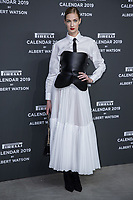 """Eva Riccobono attends the gala night for official presentation of the Presentation of the Pirelli Calendar 2019 """"The cal"""" held at the Hangar Bicocca. Milan (Italy) on december 5, 2018. Credit: Action Press/MediaPunch ***FOR USA ONLY***"""