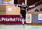 Stockholm 2014-09-26 Handboll Elitserien Hammarby IF - Ricoh HK :  <br /> Ricohs Tandri Mar Konradsson jublar efter ett av sina m&aring;l i matchen mot Hammarby<br /> (Foto: Kenta J&ouml;nsson) Nyckelord:  Eriksdalshallen Hammarby HIF HeIF Bajen Ricoh HK RHK jubel gl&auml;dje lycka glad happy portr&auml;tt portrait