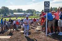 Justin Thomas (USA) heads to 12 during 1st round of the 100th PGA Championship at Bellerive Country Cllub, St. Louis, Missouri. 8/9/2018.<br /> Picture: Golffile | Ken Murray<br /> <br /> All photo usage must carry mandatory copyright credit (© Golffile | Ken Murray)
