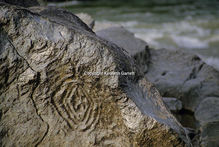 Hallowed Ground; Virginia; Native American; Petroglyph, Potomac River, Fishing