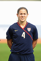 Cat Whitehill. The USWNT defeated Iceland (2-0) at Vila Real Sto. Antonio in their opener of the 2010 Algarve Cup on February 24, 2010.