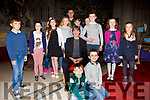 The Foilmore Folk Group who sang with Sean Keane in the O'Connell Memorial Church, Cahersiveen on Sunday night last were front l-r; John Kavanagh, Callum Wynton, back l-r; Alfie McCarthy, Niamh O'Connor, Rachel Fogarty, Paris McCarthy, Ellie Kavanagh, Andrew Wynton, Jordan Kelly, Ellen O'Sullivan, Mikey Kavanagh, Iona Wynton & Yasmin Kelly.