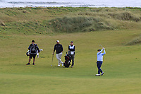 Gerry McManus (AM) on the 3rd fairway during Round 2 of the Alfred Dunhill Links Championship 2019 at Kingbarns Golf CLub, Fife, Scotland. 27/09/2019.<br /> Picture Thos Caffrey / Golffile.ie<br /> <br /> All photo usage must carry mandatory copyright credit (© Golffile | Thos Caffrey)