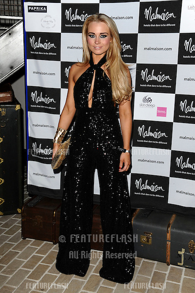 Amanda Harrington arrives for the Malmaison Hotel Liverpool re-opening party...23/09/2011  Picture by Steve Vas/Featureflash