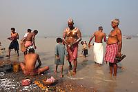 Indien, Kalkutta (Kolkata), am Babu Ghat