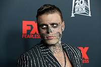 """LOS ANGELES - OCT 26:  Gus Kenworthy at the """"American Horror Story"""" 100th Episode Celebration at the Hollywood Forever Cemetary on October 26, 2019 in Los Angeles, CA"""