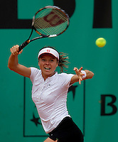 Sandra Zahlavova (CZE) against Yanina Wickmayer (BEL) (16) in the first round of the women's singles. Yanina Wickmayer beat Sandra Zahlavova 6-1 6-1..Tennis - French Open - Day 3 - Tue 25 May 2010 - Roland Garros - Paris - France..© FREY - AMN Images, 1st Floor, Barry House, 20-22 Worple Road, London. SW19 4DH - Tel: +44 (0) 208 947 0117 - contact@advantagemedianet.com - www.photoshelter.com/c/amnimages