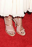 HOLLYWOOD, CA - AUGUST 23: Lizzy Caplan  (shoe detail) at the Los Angeles premiere of 'Bachelorette' at the Arclight Hollywood on August 23, 2012 in Hollywood, California. /NortePhoto.com.... **CREDITO*OBLIGATORIO** *No*Venta*A*Terceros*..*No*Sale*So*third* ***No*Se*Permite*Hacer Archivo***No*Sale*So*third*