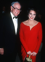 Malcolm Forbes Liza Minnelli<br /> 1988 <br /> Photo By John Barrett/CelebrityArchaeology.com
