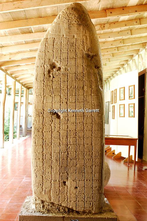 Maya Rise and Fall; Tikal; Stela 31; Ancient Cultures; Maya; Mayan; Stormy Sky; glyph