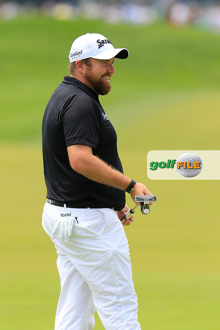 Shane Lowry (IRL) at the 10th green during Wednesday's Practice Day of the 2016 U.S. Open Championship held at Oakmont Country Club, Oakmont, Pittsburgh, Pennsylvania, United States of America. 15th June 2016.<br /> Picture: Eoin Clarke | Golffile<br /> <br /> <br /> All photos usage must carry mandatory copyright credit (&copy; Golffile | Eoin Clarke)