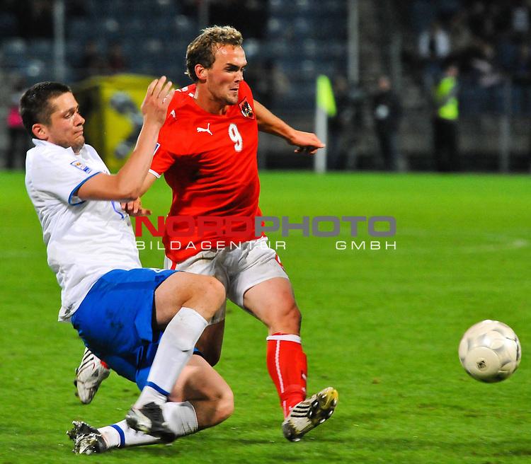05.09.2009, UPC-Arena, Graz, AUT, WM Quali 2010, Österreich vs Färöer, im Bild Erwin HOFFER (Österreich, von SSC Napoli), Foto_ nph ( nordphoto ) /  S. Zangrando
