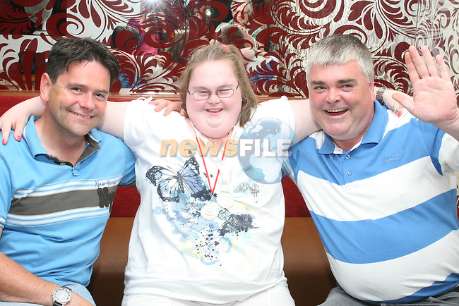 Declan Leoni and Darren at Amy Sarsfield's 21st in Harry's, Mell...Photo NEWSFILE/Jenny Matthews.(Photo credit should read Jenny Matthews/NEWSFILE)....This Picture has been sent you under the condtions enclosed by:.Newsfile Ltd..The Studio,.Millmount Abbey,.Drogheda,.Co Meath..Ireland..Tel: +353(0)41-9871240.Fax: +353(0)41-9871260.GSM: +353(0)86-2500958.email: pictures@newsfile.ie.www.newsfile.ie.FTP: 193.120.102.198.
