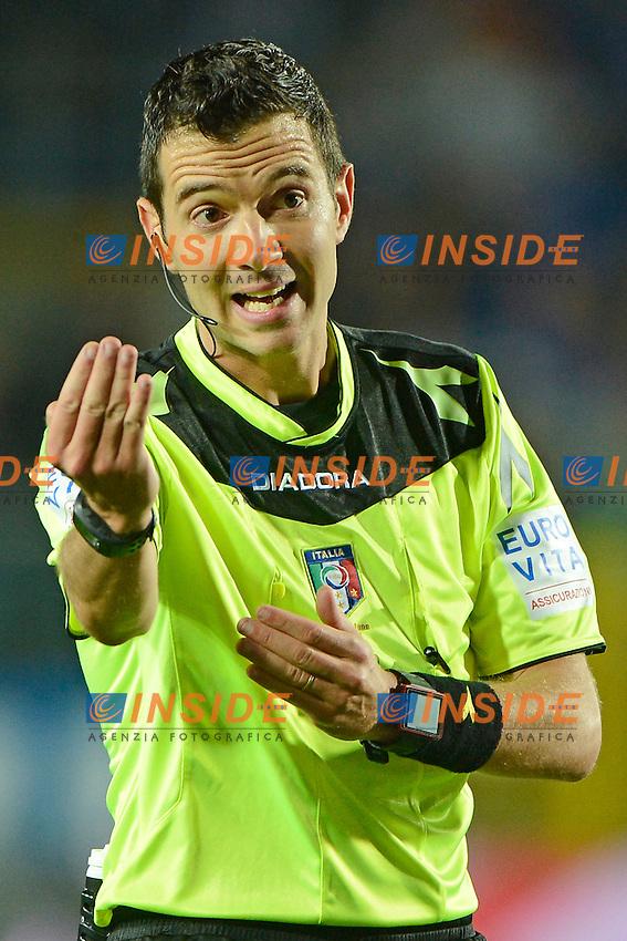 Davide Ghersini arbitro. Referee<br /> Bergamo 21-09-2016 Stadio Ateleti Azzurri - Football Calcio Serie A Atalanta - Palermo. Foto Giuseppe Celeste / Insidefoto