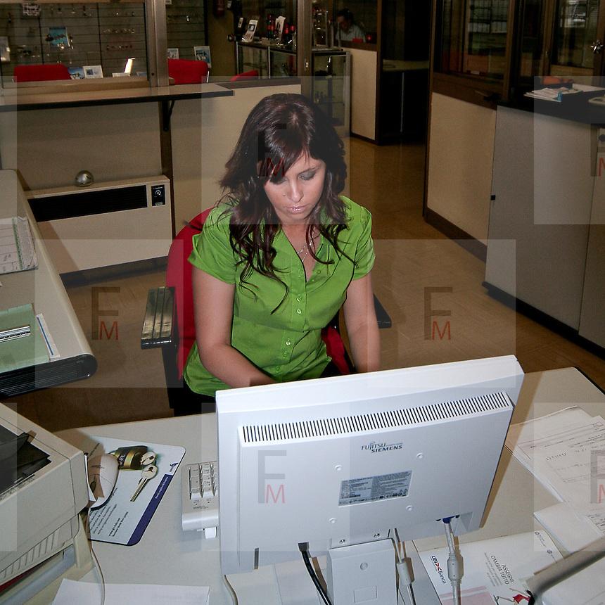 In ufficio con uno dei capi Ego