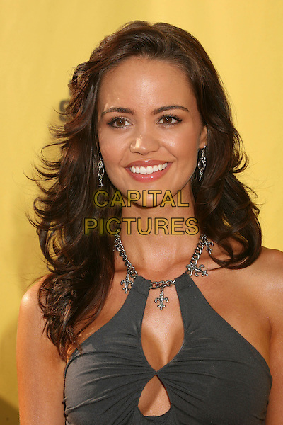 "APRIL SCOTT.Spike TV's ""Guy Choice"" Awards - Arrivals at Radford Studios, Studio City, California, USA..June 9th, 2007.headshot portrait chain halterneck grey gray cleavage.CAP/ADM/BP.©Byron Purvis/AdMedia/Capital Pictures"