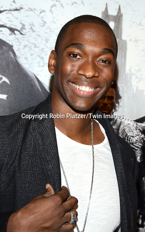 Jay Pharoah, of Saturday Night Live,  attends the Special Screening of &quot;Dracula Untold&quot;  on October 6, 2014 at The ABC Loews 34th Street Imax Theatre In New York City.<br /> <br /> photo by Robin Platzer/Twin Images<br />  <br /> phone number 212-935-0770