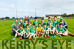 Champions<br /> Finuge who defeated Tarbert in the North Kerry U14 Championship final played in Clounmacon on Sunday morning