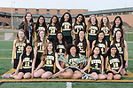 4-29-15, Huron High School girl's junior varsity lacrosse team