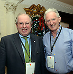 John Griffin, Kerry Tourism Officer and Mike Buckley, Kerry Coaches pictured  at the National Tourism Forum in The Muckross Park Hotel, Killarney at the weekend. <br /> Over 200 delegates from all over Ireland attend the inaugural event which was addressed by national and international speakers.<br /> Photo: Don MacMonagle<br /> <br /> Repro free photo