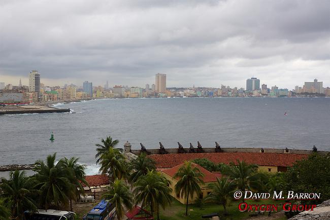 View Of Old Havana From El Morro