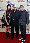 UNIVERSAL CITY, CA. - May 31: Viacom Chairman Sumner Redstone (C), grandson Brandon and guest arrive at the 2009 MTV Movie Awards held at the Gibson Amphitheatre on May 31, 2009 in Universal City, California.