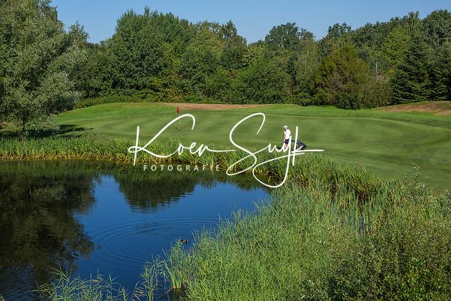 EINDHOVEN   - hole 15,  Golfbaan Welschap.   COPYRIGHT KOEN SUYK