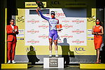 Stefan Kung (SUI) Groupama-FDJ wins the day's combativity prize at the end of Stage 10 of Tour de France 2020, running 168.5km from Ile d'Oléron to Ile de Ré, France. 8th September 2020.<br /> Picture: ASO/Pauline Ballet | Cyclefile<br /> All photos usage must carry mandatory copyright credit (© Cyclefile | ASO/Pauline Ballet)