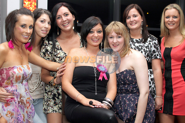 Katie Everitt, Sharzie Fourgie, Lucy Wood, Elisha McCluskey, Grainne Flanagan, Kellie Wood and Siobhan Wood celebrating Elisha's birthday in Bru...Photo NEWSFILE/Jenny Matthews.(Photo credit should read Jenny Matthews/NEWSFILE)....This Picture has been sent you under the condtions enclosed by:.Newsfile Ltd..The Studio,.Millmount Abbey,.Drogheda,.Co Meath..Ireland..Tel: +353(0)41-9871240.Fax: +353(0)41-9871260.GSM: +353(0)86-2500958.email: pictures@newsfile.ie.www.newsfile.ie.FTP: 193.120.102.198.