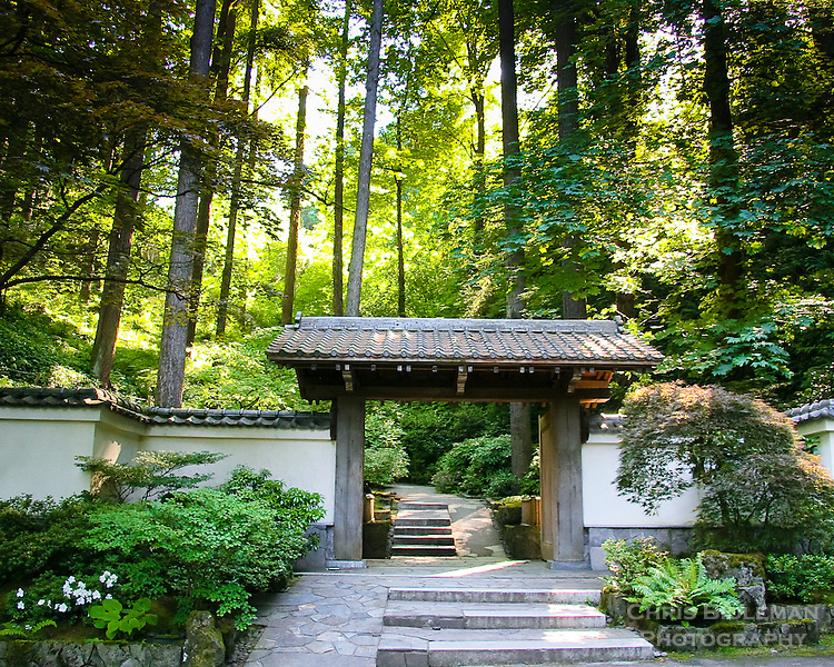 Entrance gateway to portland japanese garden chris - Portland japanese garden admission ...