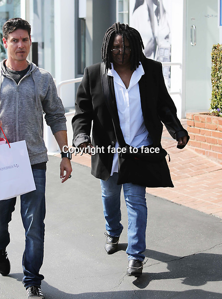 Who knew Whoopie Goldberg shops high end fashion? The actress and TV show host spotted today at Fred Segal on Melrose. Los Angeles, California on March 28, 2013..Credit: Vida/face to face