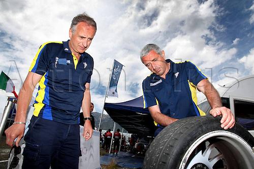 17.05.2013. Corsica.   ambiance Michelin Automobiles Rally Tour de Corse , Rallye de France.
