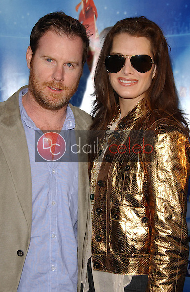Chris Henchy and Brooke Shields<br />at the Los Angeles Premiere of &quot;Blades of Glory&quot;. Mann's Chinese Theater, Hollywood, CA. 03-28-07<br />Dave Edwards/DailyCeleb.com 818-249-4998