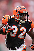Cincinnati running back Rudi Johnson on a 22 yard touchdown run in the second quarter against the Chiefs at Arrowhead Stadium in Kansas City, Missouri on September 10, 2006. The Bengals won 23-10.