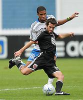 DC United midfielder Ben Olsen (14). The San Jose Earthquakes defeated DC United 2-1 at RFK Stadium, Sunday September 27, 2009.