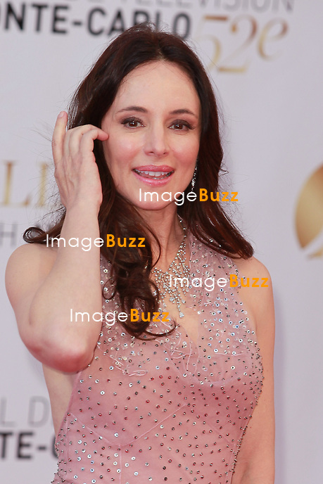 MONTE-CARLO, MONACO - JUNE 14: Actress Madeleine Stowe arrives at the Closing Ceremony of the 52nd Monte Carlo TV Festival on June 14, 2012 in Monte-Carlo, Monaco. ..