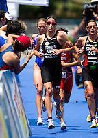 05 JUN 2010 - MADRID, ESP - Helen Jenkins - Womens ITU World Championship Series triathlon (PHOTO (C) NIGEL FARROW)